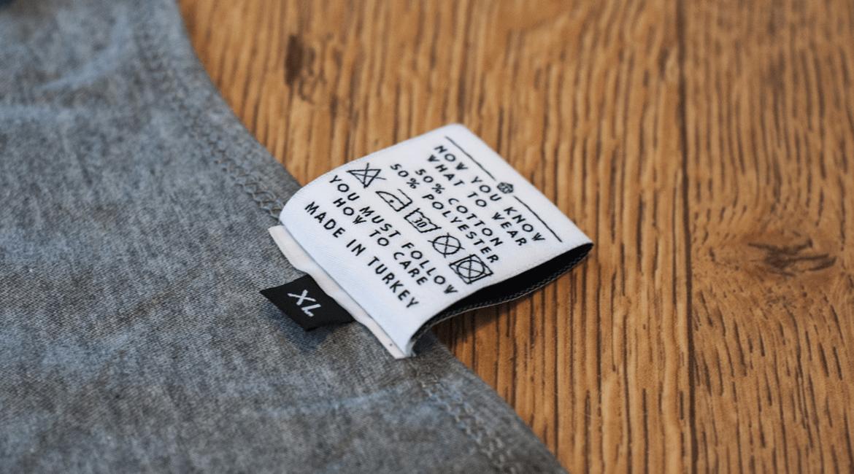 Come lavare correttamente le magliette con stampa serigrafica