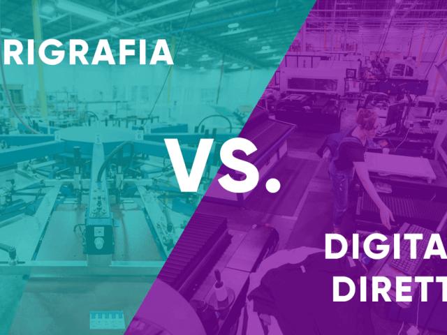Serigrafia o stampa digitale diretta DTG? Quale scegliere?