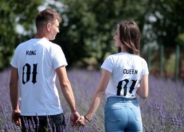 magliette personalizzate di coppia