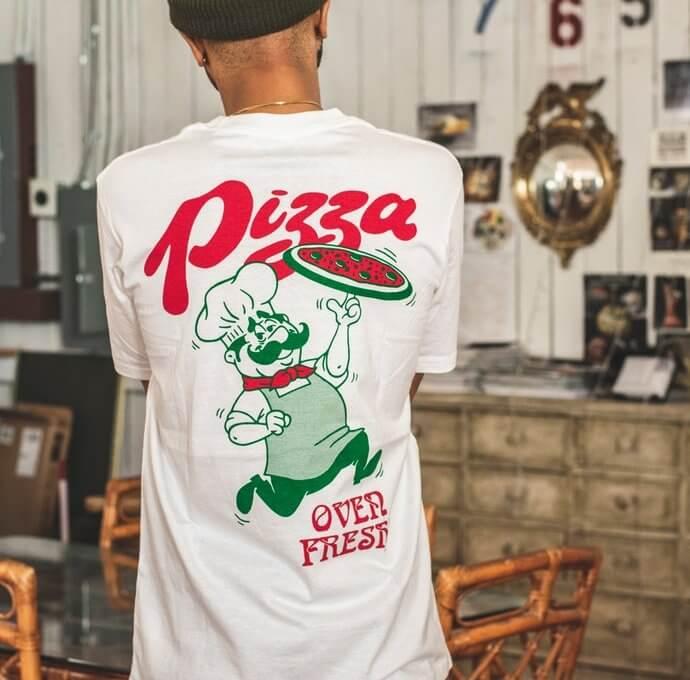 magliette personalizzate per pizzeria