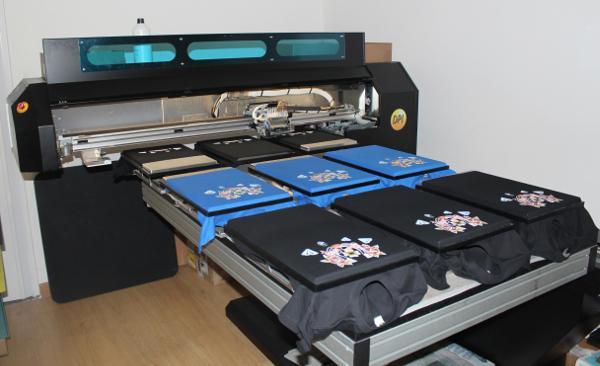 magliette personalizzate serigrafia, stampa diretta o ricamo