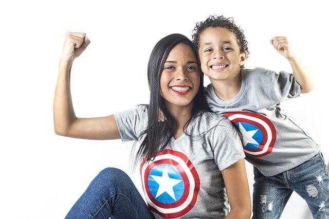 Magliette personalizzate per neonati.