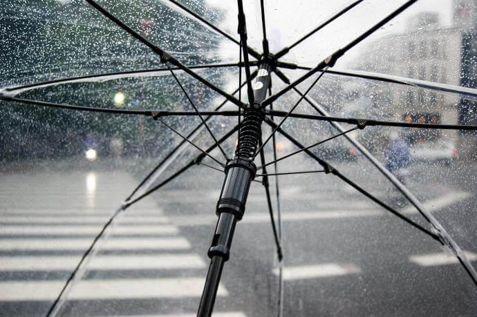 Ombrelli da pioggia economici personalizzati