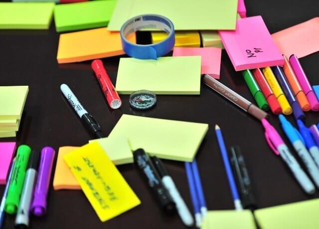 set da scrivania colorati personalizzati