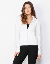 Cotton Spandex Jacket Zip lunga