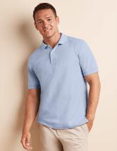 Premium-Cotton polo doppia piquè manica corta