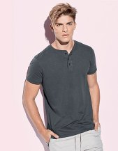 Star Shawn Slub Henley